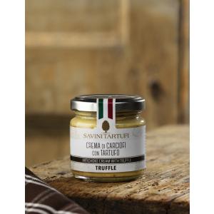 Artichoke cream with truffle