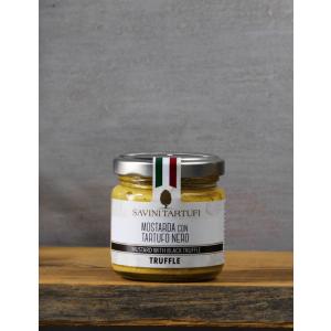 Mustard with black truffle
