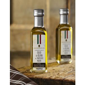 Condimento a base di olio di oliva al tartufo nero pregiato