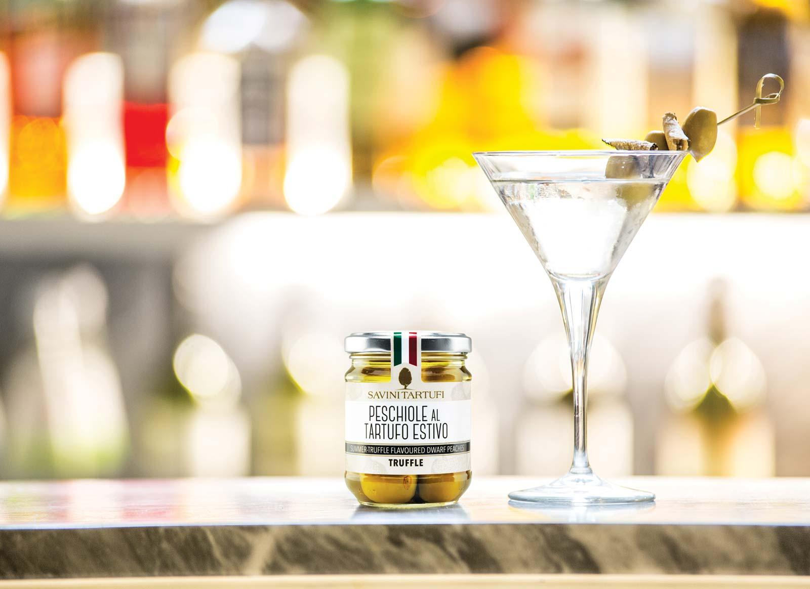 Truffle Martini Cocktail