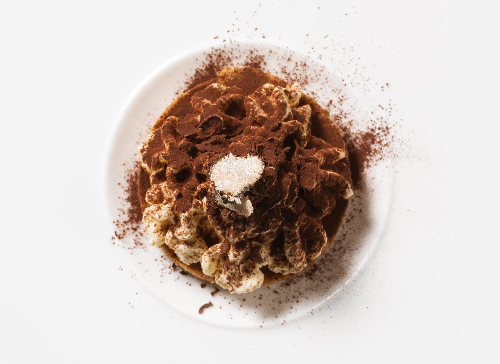 Truffle-flavoured tiramisù